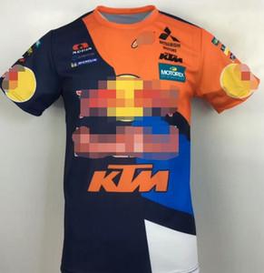 KTM motosiklet tişört 2019 yaz rahat ceket fabrika takımı versiyonu kısa kollu yuvarlak boyun off-road bisiklet giyim nefes
