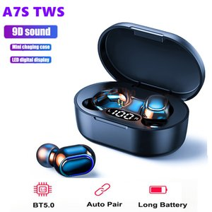 A7S TWS Bluetooth 5.0 Earphone Noise Cancelling fone Headset With Mic Handsfree Earbuds for Xiaomi Redmi Airdots Wireless Earbud