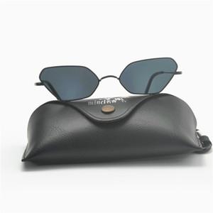 cute sexy retro cat sunglasses women uv black small sun glasses for women summer tinted lens Small square punk sunglasses FML