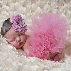 kids Newborn Baby Girls Boys Costume Photo Prop Outfits Headband Skirt newborn photography accessories fotografia bonnet enfant