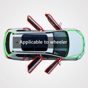 MODIF retrofitted araba kapı boşluğu toz Feng Shui çarpışma sesi yalıtımı weiler FAW tüm kapıların uygulama için