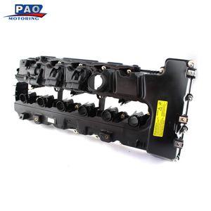 Car Motor cabeça de cilindro novo para N54 F02 / E70 6 cilindros Top Cable tampa da válvula OEM 1112756528411 12 7 565 284, 11127565284