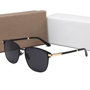 Kadınlar lüks tasarımcı güneş gözlüğü erkek lüks tasarımcı güneş UV400 0818 orijinal kutusu ile Moda Polarize Güneş Gözlüğü Sürücü gözlükler