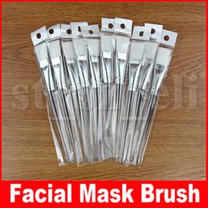Gesichtsmaske pinsel kit make-up pinsel gesicht hautpflege masken applikator kosmetik home diy gesichtsaugenmaske werkzeuge klar griff 15,5 cm