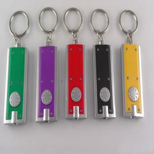 Tetris-Licht-Schlüsselring LED Light Box-Typ KeyChain 50pcs LED-Werbe-kreative Geschenke kleine Taschenlampe Schlüsselanhänger Licht LXL919-1 Werbung