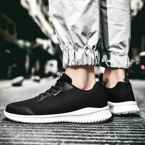2020 Outdoor Breathable Walking Shoes for Men Spring Summer Lightweight Running Sneakers Mens Comfortable Sport Shoes
