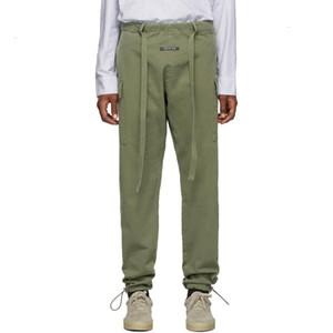 19SS Tanrı korkusu SIS Eğlence Pantolon Tulum İpli Pantolon Sweatpants Sokak Rahat Gevşek Hip Hop Pantolon Spor Moda HFHLKZ020