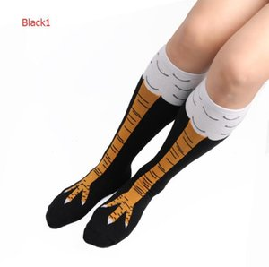 Autumn Winter Fashion Stocking For Men Women Socks With Cute Patterns Newest Hot Chicken Feet Sports Stockings 3 Styles Optional