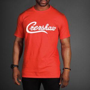 Mode Cool Summer Harajuku Hipster Mode Nipsey Hussle Legendary Crenshaw T-shirt unisexe Hip Hop Rap Tops Tee