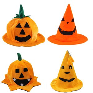 Halloween Pumpkin Cappelli Performance Cappelli Partito Cappelli per bambini adulti Cosplay Props Halloween Party Supplies abito