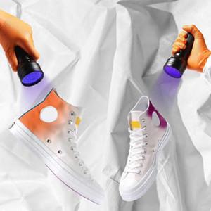 Chinatown marché x 70 Chuck UV Skate Shoe Chucky Taylors Designer Star Changer la couleur chaussures en toile Casual Taille 36-45