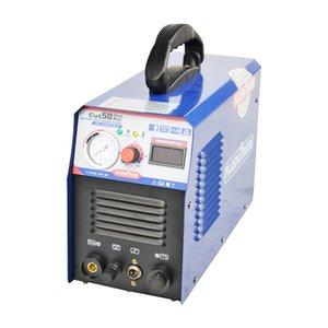 Kostenloser Versand Neuer Panel-CUT50 Pilot Arc Plasmaschneider 50A Schneidemaschine Arbeit für CNC 110 / 220V, freie Fackel und Verbrauchsmaterial