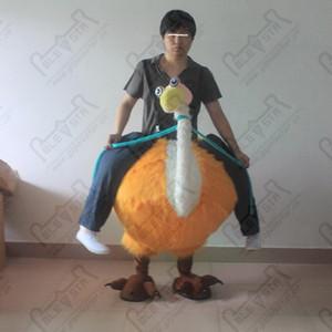 mascotte oiseau tour d'orange costumes d'autruche costume STAR POLE MASCOT COSTUMES