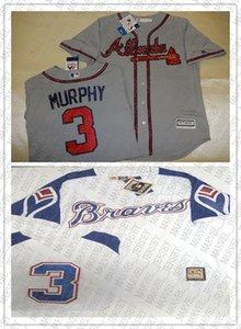 100% del ricamo numero Cheap personalizzato Dale Murphy maglie cucita Personalizza qualsiasi nome MEN XS-5XL NCAA JERSEY