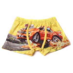 Summer Children Shorts for Boy Briefs Baby Boy Swimwear Trunks 2019 New Cartoon Kid Child Underwears For 3-11 years old