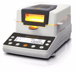 Lampada alogena digitale rapida laboratorio di umidità metro di umidità automatico cassiere Grain analizzatore di umidità