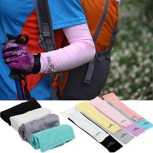 Hicool Охлаждение рукава Unisex Спорт ВС Блок Anti UV Защитные рукава поводковый рукава охлаждения втулки 2pcs кнопки Корпуса / пара CCA12242