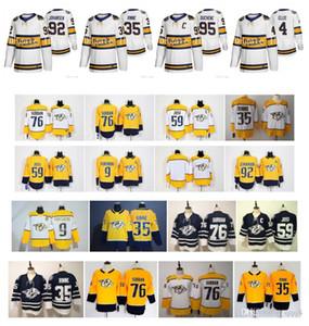 2020 invierno clásico NHL Nashville Predators Jersey Pekka Rinne romana Josi Filip Forsberg Ryan Johansen Duchene Hombres Mujeres Niños Hockey Jersey