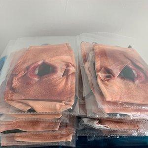 máscaras faciales diseñador Mascherine lavables niños de algodón máscara Maske adultos PM2.5 filtro de carbón activo lavable elástico correas de oído ajustable