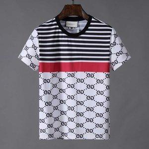 2020Luxury Mens Designer T Shirt Designer Casual Short Sleeves Fashion Shark Printing