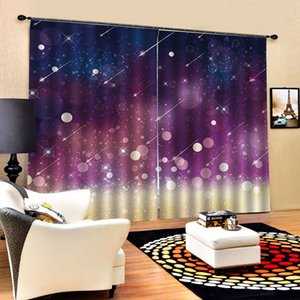3d Curtain Living Room Beautiful Meteor Shower Beautiful And Practical 3d Digital Printing Curtains
