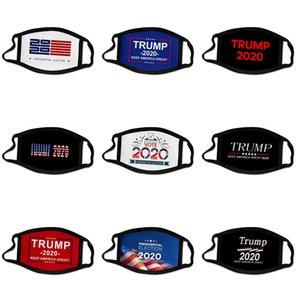 Tasarımcı Trump Yüz Anti Toz Ultraviyole-Dayanıklı Ağız-Kül Erkekler Kadınlar Yüz Maskeleri Lüks Harf Marka Koruyucu Yıkanabilir Face # 930 yazdır Maske