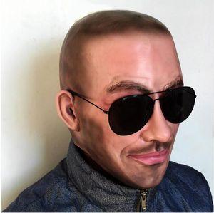Горячая! Бесплатная доставка Halloween Party Cosplay Известный Человек Дэвид Бекхэм Маска Для Лица Латексная Вечеринка Real Human Face Mask Прохладный реалистичные маски