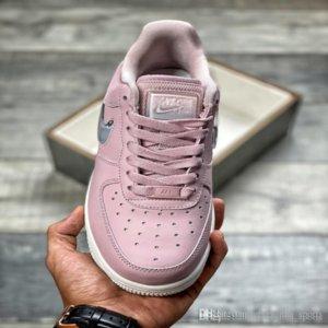 Wmns ForceAir 1 \ u002707 GOU SE Premium Lee bajo AH6827-500 con caja AF1 AF Hombres de calidad superior para mujer Zapatillas de deporte Zapatos Casual Designerluxury