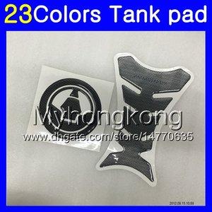 Fibra del carbón 3D del cojín del tanque para Kawasaki ZX10R 16 17 18 19 ZX 10R ZX10R 2016 2017 2018 2019 MY45 Gas Tapa del tanque Protector de etiquetas de pegatina