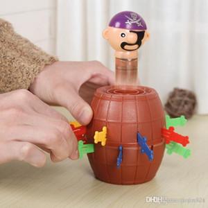 Al por mayor-nueva venta caliente extraña banal juguetes piratas barriles tío raro Familia y juguetes nuevos Bingo envío