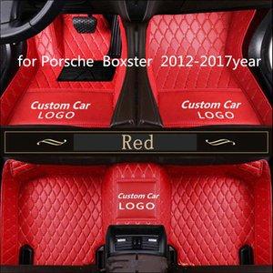 Porsche Boxster 2012-2017year kaymaz toksik olmayan ayak pedi araba ayak pedi için