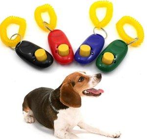 Pet Ferramenta Training Remote portátil cão de animal Clicker Som instrutor Controle Wrist Band Acessório