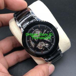 Vente en gros Hot Unisexe Montres Lady célèbre moderne Qaurtz Mode Hommes Noir Céramique Montre Femme Casual Hommes Sport Montres-bracelets