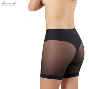2019New Great Panties For Underpants Summer High Stretch Seamfree Womens Net Cloth Splicing Mesh Body Shaping 4137