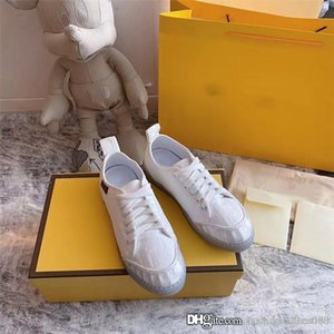 Spring summer 2020 new transparent bottom jacquard casual shoes comfortable breathable casual flat shoes With box 35-40