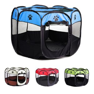 Dog Playpens Large, Pen Kennel for Dog Puppy Cats Rabbits Small Animals, Portable Pets Tent Indoor & Outdoor House Octagonal