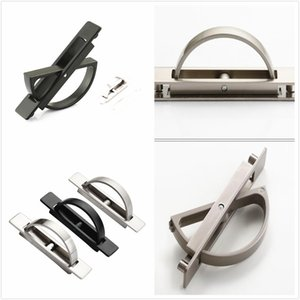 360 Degree Rotation Handles for Cupboard Door Drawer Wardrobe Shoe Cabinet Pulls Stainless Steel Universal with Screw