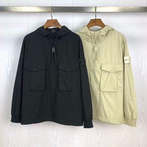 Gelgit marka Taş Hayalet serisi ceket erkek spor pusula kol bandı cebi kazak hoodie ceket Hoodie ceket