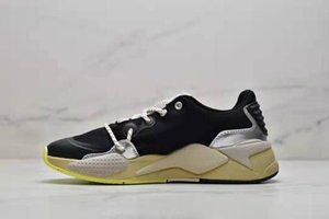 شحن مجاني HAN KJOBENHAVN RS-X الاحذية أحذية الرجال النساء السود سيلفي الرياضة مع صندوق
