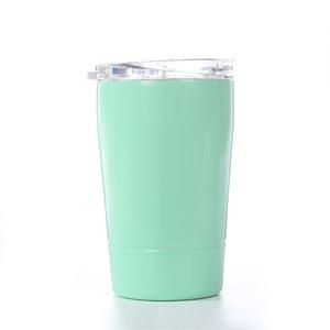 Ребенок 9 унций стакан из нержавеющей стали кружка кофе открытый бутылки воды с крышками и соломы, изолированные чашки молока А03