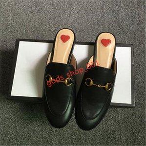 Gucci slippers Nouvelle été Lapel dentelle velours Pantoufles Boucle cuir abeille serpent Motif Femmes de luxe Taille 35-42