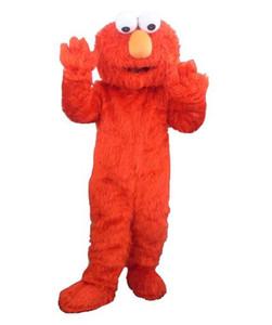 kostüme Erwachsene elmo Maskottchenkostüme für Verkauf Halloween-Outfit-Abendkleid-Anzug elmo erwachsene Kleidung