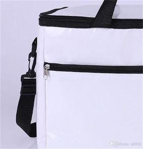 Keeping Oxford Weiß Proof tragbare Tasche Wasser warm halten Paket Einzel-Schulter-Kühler gefütterte Thermal Zipper Hot Sale 18 8hpE1
