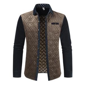 Men marca de remiendo chaquetas y abrigos de tela escocesa de lana Diseñador capa de las chaquetas de los hombres ropa de invierno Moda primavera ropa masculina