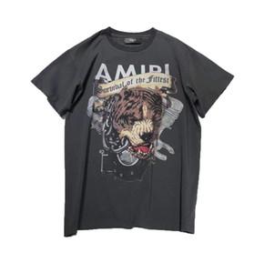 2019 otoño nueva moda para hombre de alta calidad perro Bully camisetas de las camisetas de tamaño de US ~ hombre nuevo diseño de manga corta t camisas
