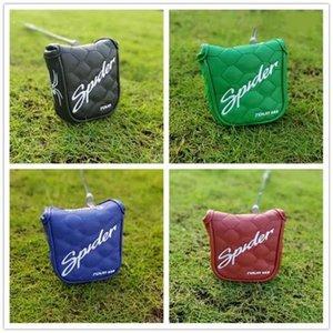 Yeni Golf Kulübü Mallet Putter Başörtüsü Örümcek Dükkanı Yüksek Kalite Mallet Putter Kapak Ücretsiz Kargo