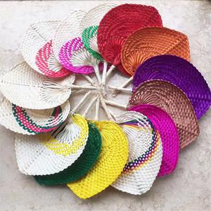 Bamboo weaving banana fan Hand-woven fan dance straw hand fan baby navel Pucao fans Factory wholesale LX2912