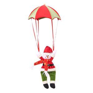 Weihnachten Weihnachtsmann Parachute Dekoration Baum Toppers Nette Einzigartige Haushaltsschneemann Parachute Dekoration