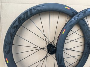 Free shipping 50mm depth Clincher carbon wheel 25mm width disc brake road bicycle wheelset with Novatec771 772 hubs U-shaped rim