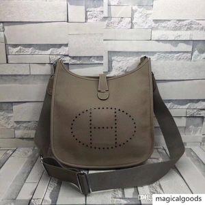 плеча сумки металла аппаратных средств большой емкости кожи холст печати Эвелин А11 11 andEvelyneA